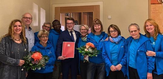 2-jähriges Jubiläum und Erhalt des Integrationspreises 2019